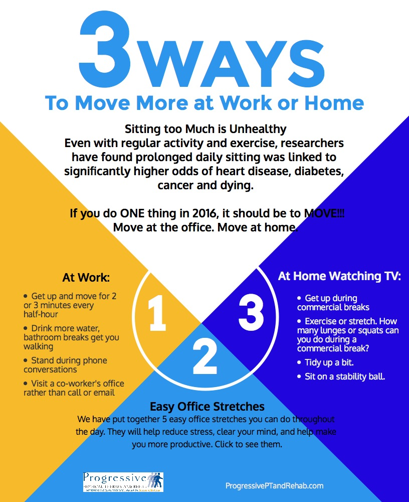 Easy Ways to Move More At Work