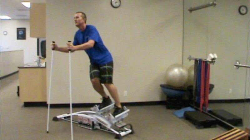 New Skier's Edge Helps Skiers with Conditioning or Rehabing an Injury